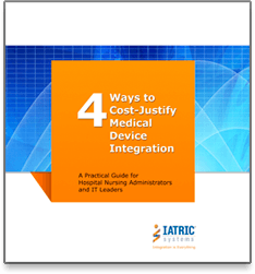4 Ways to Cost Justify Medical Device Integration eBook image