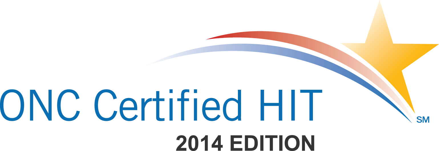 ONC Certification HIT 2014 Edition Stacked image