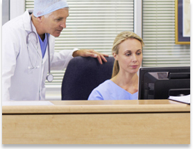 Streamline registration when you share data with physician offices image