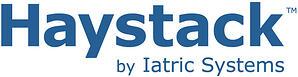 Haystack by Iatric Systems logo - blue