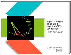CIO Challenges: EHR Optimization eBook image
