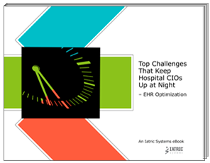 CIO Challenges: EHR Optimization eBook image