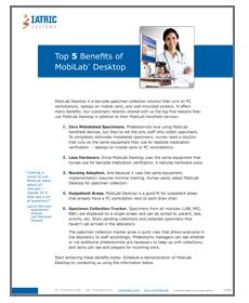 Top 5 MobiLab Benefits Image